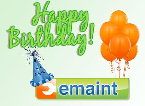 Emaint birthday
